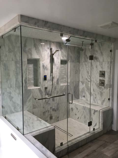 Hot Mop Sacramento Frameless Shower Doors